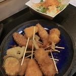 しゃぶしゃぶ・寿司・和食 海王 - 串揚げ&サラダ
