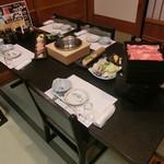 しゃぶしゃぶ・寿司・和食 海王 - 店内(座敷)