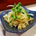 二代目沖縄居食家屋いち - ミミガーポン酢 450円