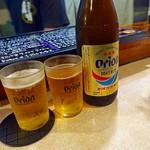 二代目沖縄居食家屋いち - オリオンビール 瓶 600円