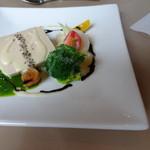 柿の樹 - ランチ前菜 フォアグラのテリーヌ