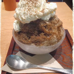 カフェ ソラーレ Tsumugi - ほうじ茶ティラミス氷