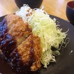 洋食工房パセリ - 味噌かつ定食 1,030円