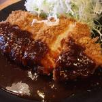洋食工房パセリ - 味噌チキンかつ定食 900円