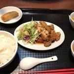 DRAGON酒家 - 油淋鶏ランチ