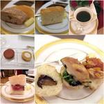 綱町三井倶楽部 - 2016パンは3種類/コーヒー/小菓子/みかりんこ特製サンド達