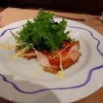 ル・クープ・シュー - 定食(税込み1836円)の前菜
