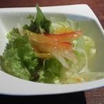 イタリアンダイニング CAFE bird - ランチのサラダ