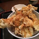 四国のげんさん - 穴子と海老の大名丼(780円)