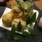 あわい - 白子の天ぷら