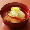 はな柳 - 料理写真:聖護院かぶらと白甘鯛の煮物椀。