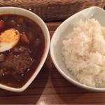 60489674 - 黒スープのハンバーグ 1050円