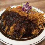 洋食の店 ブーン - チキンカツ定食のチキンカツ