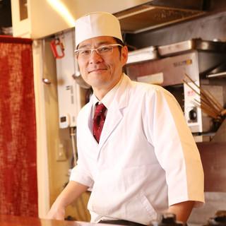 京都・大阪で17年修行、独立して13年の確かな技術の料理を。