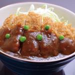 岡山グルメと珈琲 ALOALO - 料理写真:〔岡山グルメ〕デミカツ丼