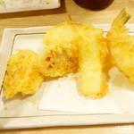 魚漁 - 天ぷら