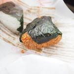 こびしや - 手前が国産鰻!奥が朴葉味噌。