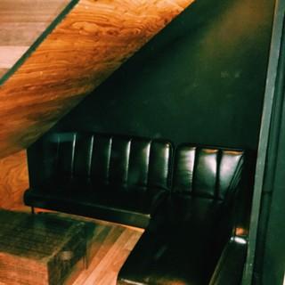 大人気のソファー席