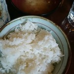ロジェ - ライスと味噌汁
