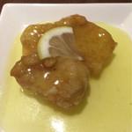60496433 - 日替り一品料理:白身魚のレモンソース和え