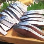 かわなみ鮨 - 〆鯖