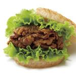モスバーガー - ライス焼肉バーガー