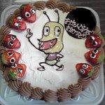 ミロワール - 娘の誕生日に作ってもらいました。普通のケーキに500円upですが、大満足です!