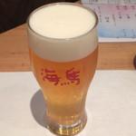 本等鮨 海馬 - 生(550円)