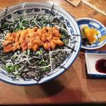 丼 ふじ田 - うに丼1,600円(税込)