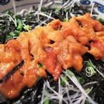 丼 ふじ田 - 「うに丼」のアップ