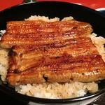 60503448 - うな丼Bアップ                       お米がしっかり立っています。