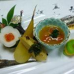 日本料理 鰻割烹  新川 - 前八寸