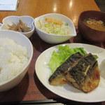 定食屋ケンケン - 今日のお昼ご飯