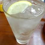 ときわ食堂 - レモンハイ320円
