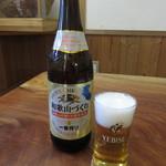 60505367 - 瓶ビール・・・キリンの和歌山づくりでした♪ 600円 (2016.12)
