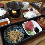 60505405 - まぐろ定食 1600円 (2016.12)
