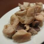 60507857 - 砂肝と鶏肉のコンフィ