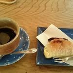 香房 ゆず夢cafe - かなかなお目にかかれないビターチョコパイ