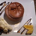金のスプーン - ふわとろスフレパンケーキ(チョコレート)