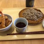 鷹山 - ミニ天丼セット