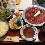 美福苑 - 焼肉ランチ1.5倍1,840円