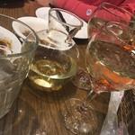 SALVATORE CUOMO & BAR すすきの - 白ワインデキャンタ♪