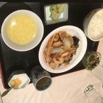 リラ・ポートレストラン - 料理写真:八宝菜定食