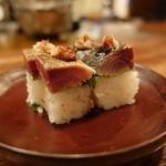 パーラーイワシ - ☆炙り鯖棒寿司(●^o^●)☆