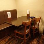 パーラーイワシ - ☆テーブル席はこちらです(^o^)丿☆
