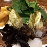 60519110 - 野菜盛り(火鍋)