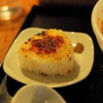 麺屋海神 - へしこ焼きおにぎり