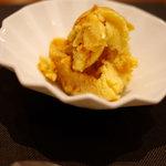 Japanese Vegetable House 菜 - 豆乳カラメルアイス(350円)
