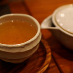 Japanese Vegetable House 菜 - 野草茶(500円)
