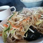 60522406 - 肉野菜炒め 定食